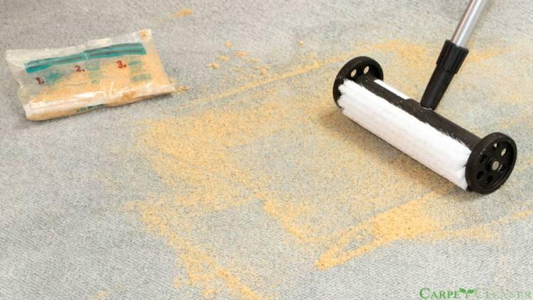 Szczotka ręczna do czyszczenia wykładzin dywanowych na sucho Magic Roller