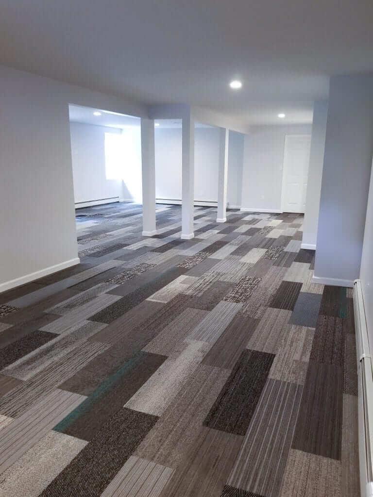 interface gray family designer plank carpet tiles 9 75 x 39 4