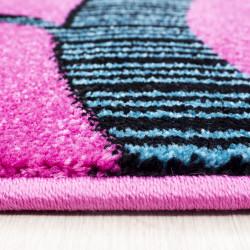 tapis de chambre d enfant a motifs arbre papillon violet