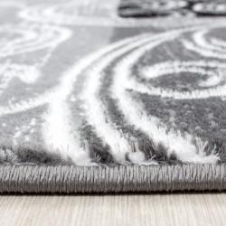 tapis de salon paillete design moderne toscana 3130 noir