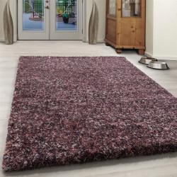 tapis shaggy de salon de haute qualite a poils longs a poils longs rose creme taupe chine