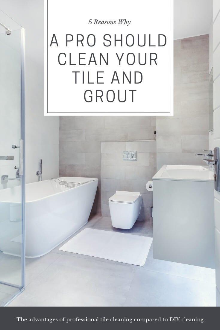 should clean your tile