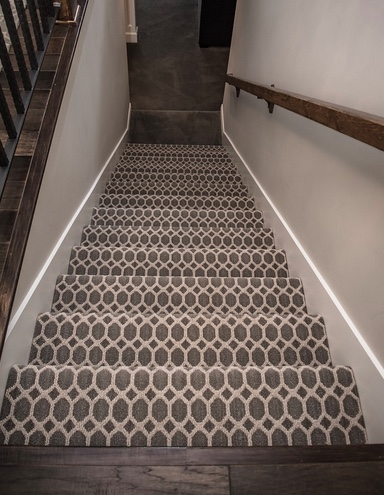 Patterned Carpet Add Some Fun To Your Floors Carpet Direct | Best Patterned Carpet For Stairs | Modern | Foyer | Vintage | Stair Triangular Landing | Well Fitted