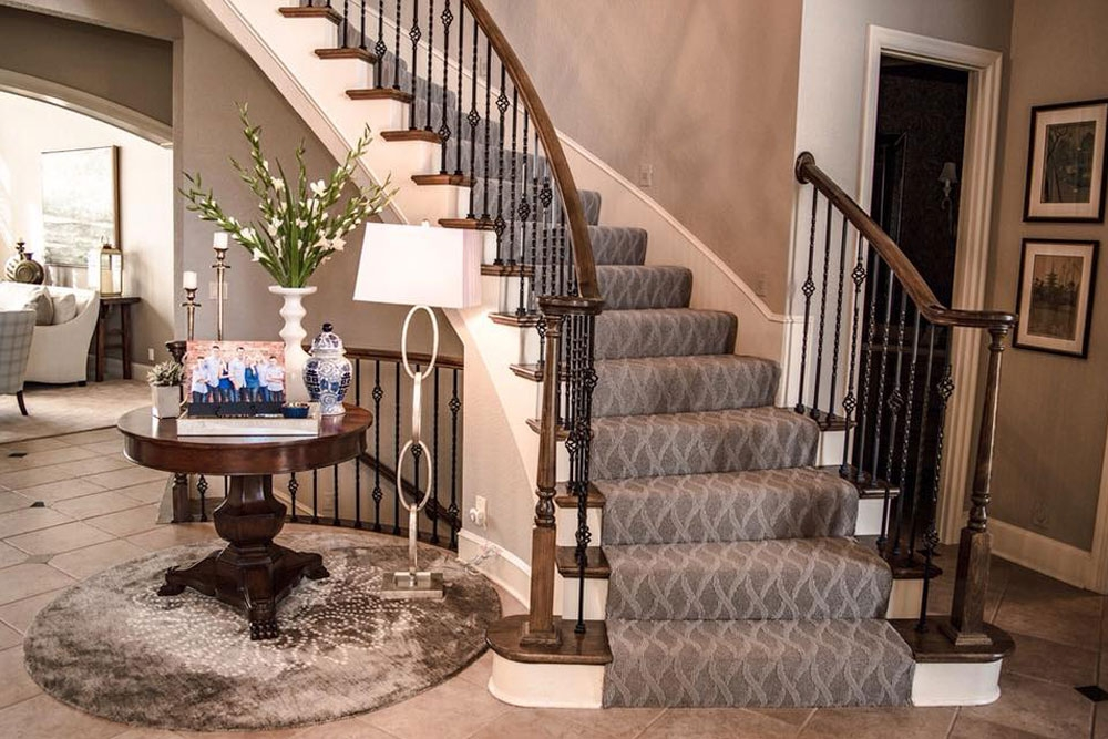 Patterned Carpet Add Some Fun To Your Floors Carpet Direct | Carpet For Bedrooms And Stairs | Grey | Carpet Runner Ideas | Stair Railing | Rugs | Staircase Design