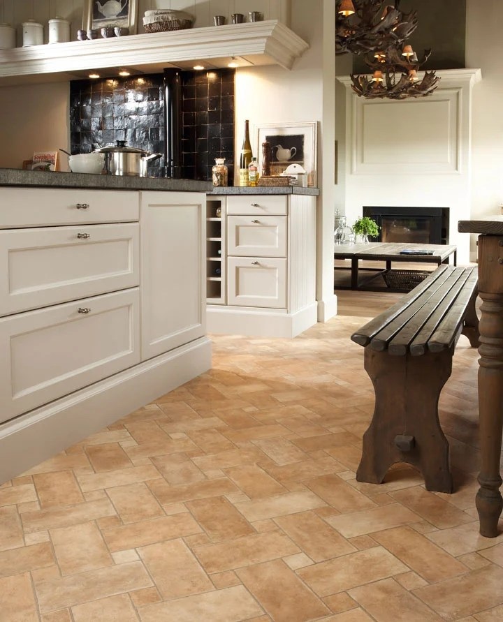 match your kitchen flooring to your own