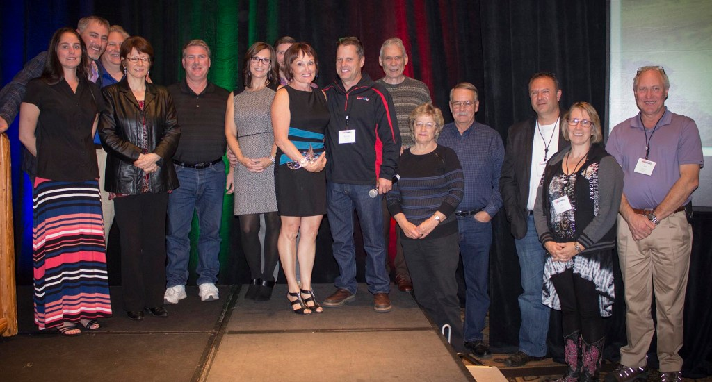 The Northwest COLORTILE group and Randy Reed's staff, Summit 2014