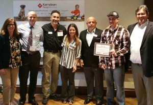 Travis Robison wins Karndean Design Contest