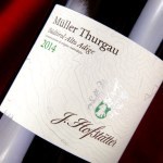 Müller Thurgau Hofstätter: carattere ed eleganza