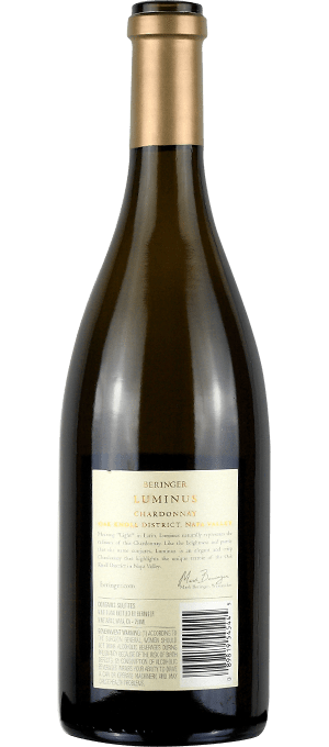 chardonnay Luminus 2016 - Napa Valley retro