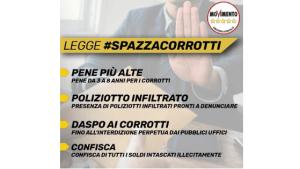 La nostra legge #SpazzaCorrotti 4