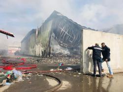 """Incendio discarica di Via Caruso a Modena. M5S di Carpi e Soliera: """"Il monitoraggio continui, non si scherza con la qualità dell'aria"""""""