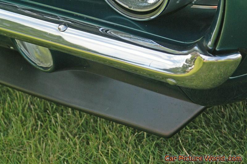 1969 Camaro Front Spoiler Aluminum