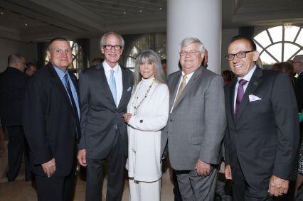 IMG_2442 Kelly Landers, Park Miller, Barbara Katz, Chief Deputy Mike Gauger, Bill DeMott