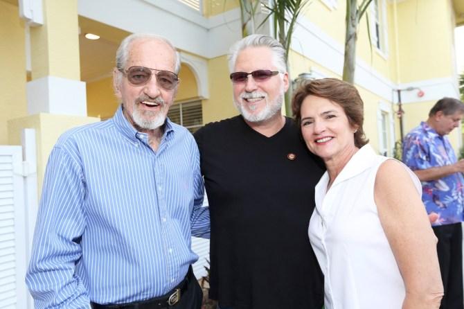 IMG_0156 Mike Fagan, Shawn Brett & Lynda Henry