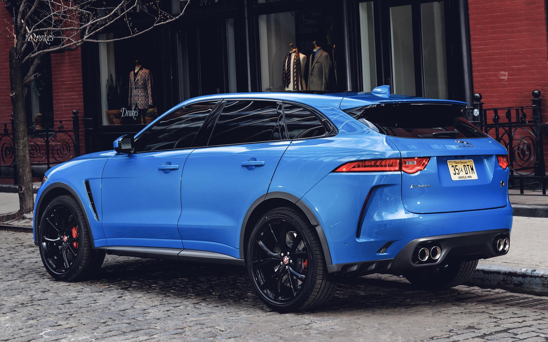 Jaguar F Pace SVR 2019 US Wallpapers And HD Images Car