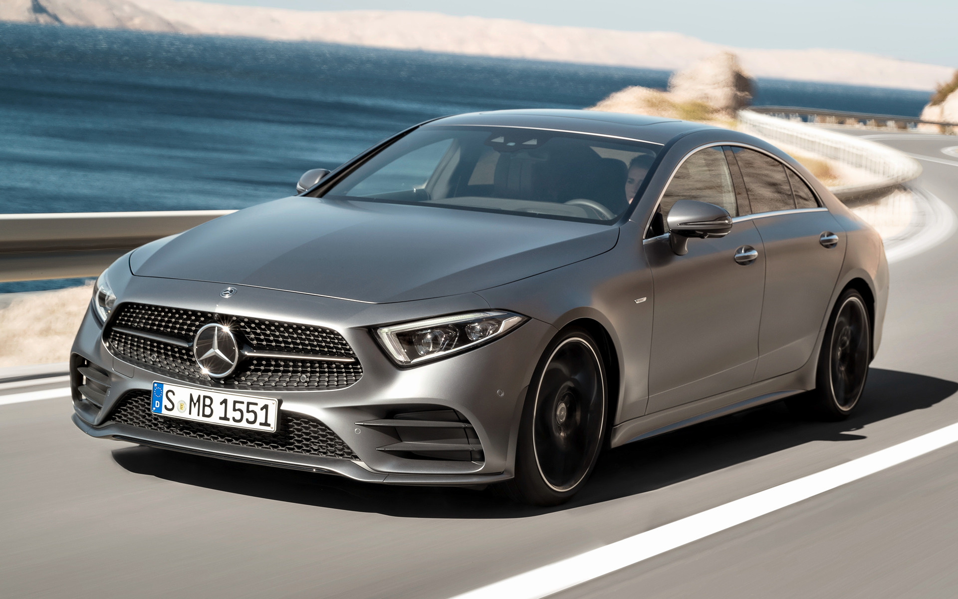 2018 Mercedes Benz CLS Class AMG Line Wallpapers And HD