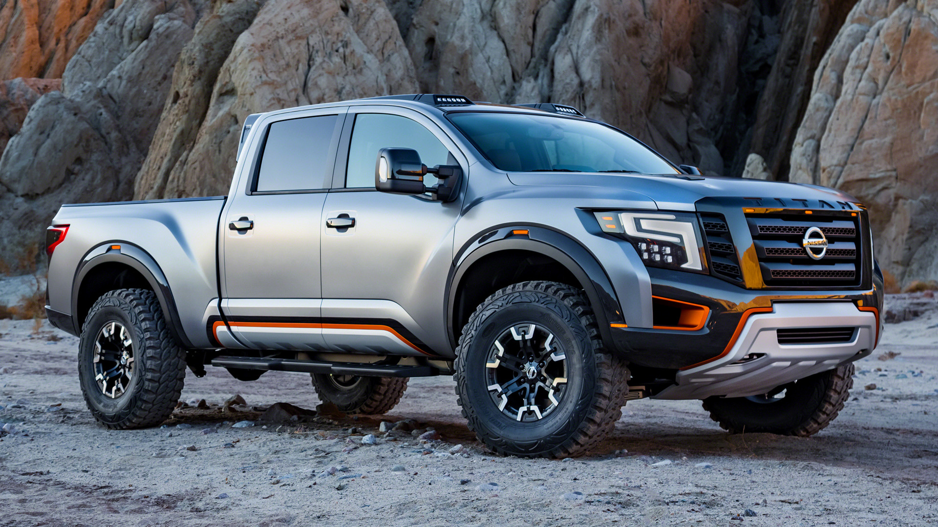 2016 Nissan Titan Warrior Concept Wallpapers And Hd