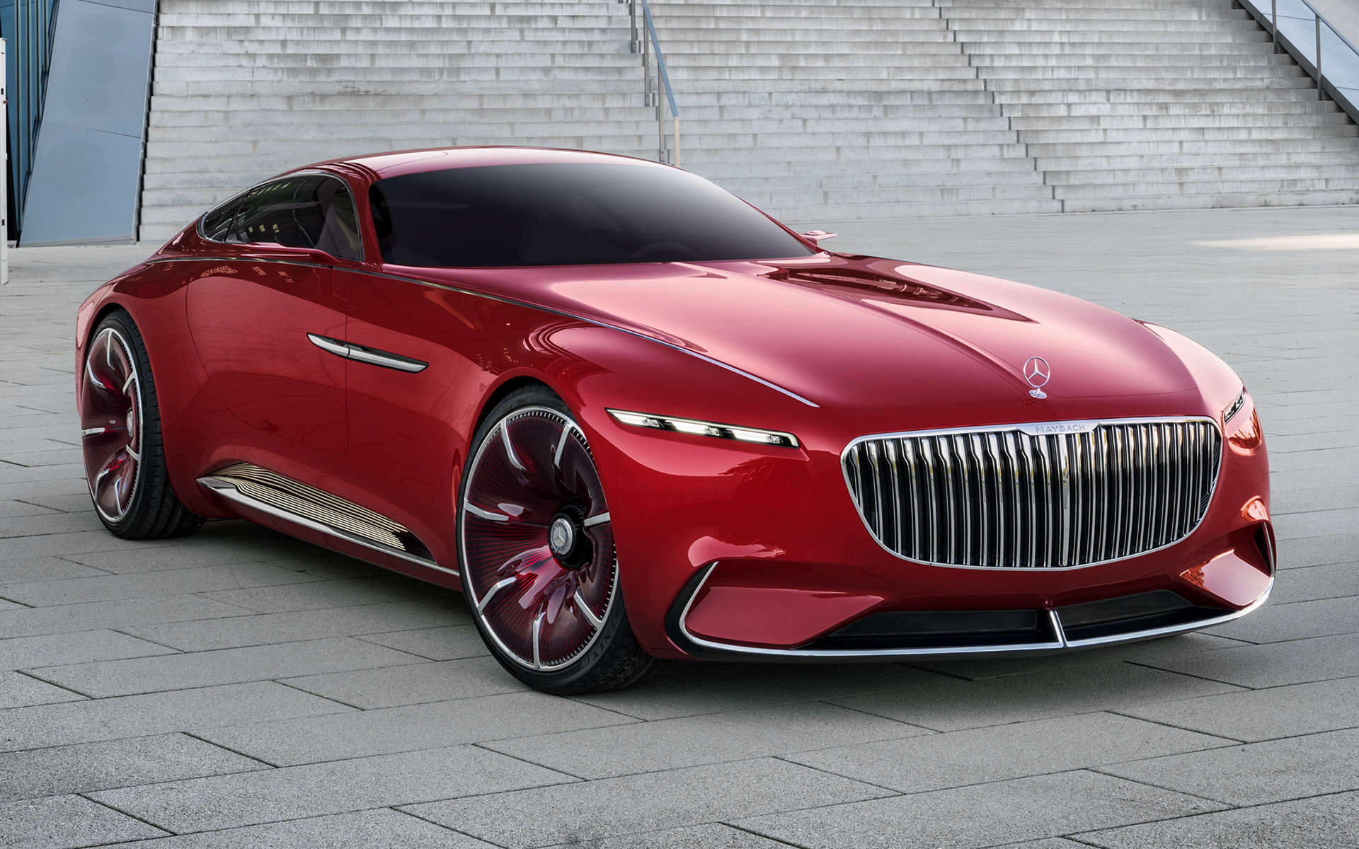 2016 Vision Mercedes Maybach 6 Wallpapers And Hd Images