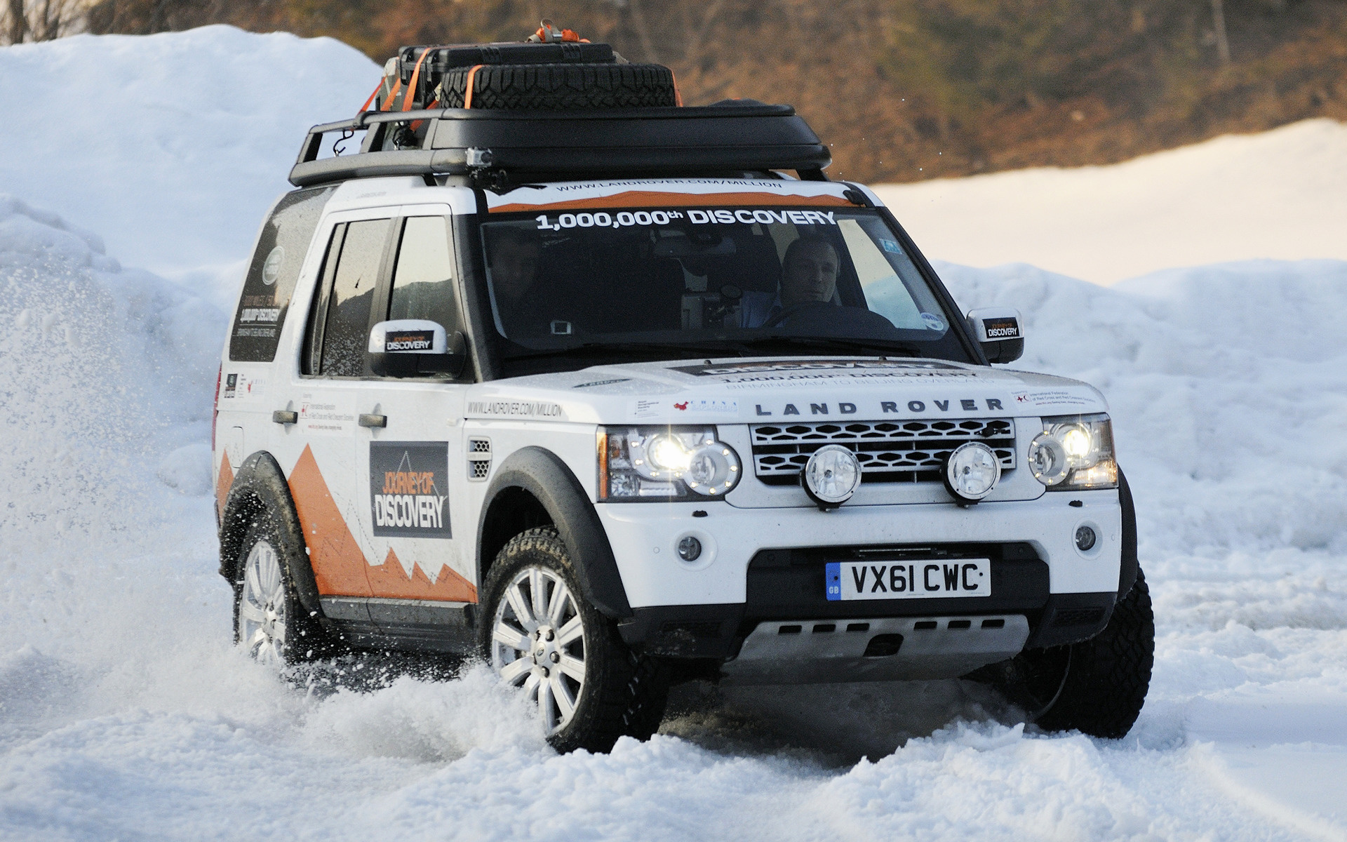 Land Rover Discovery 4 Expedition Vehicle 2012 Wallpapers and HD