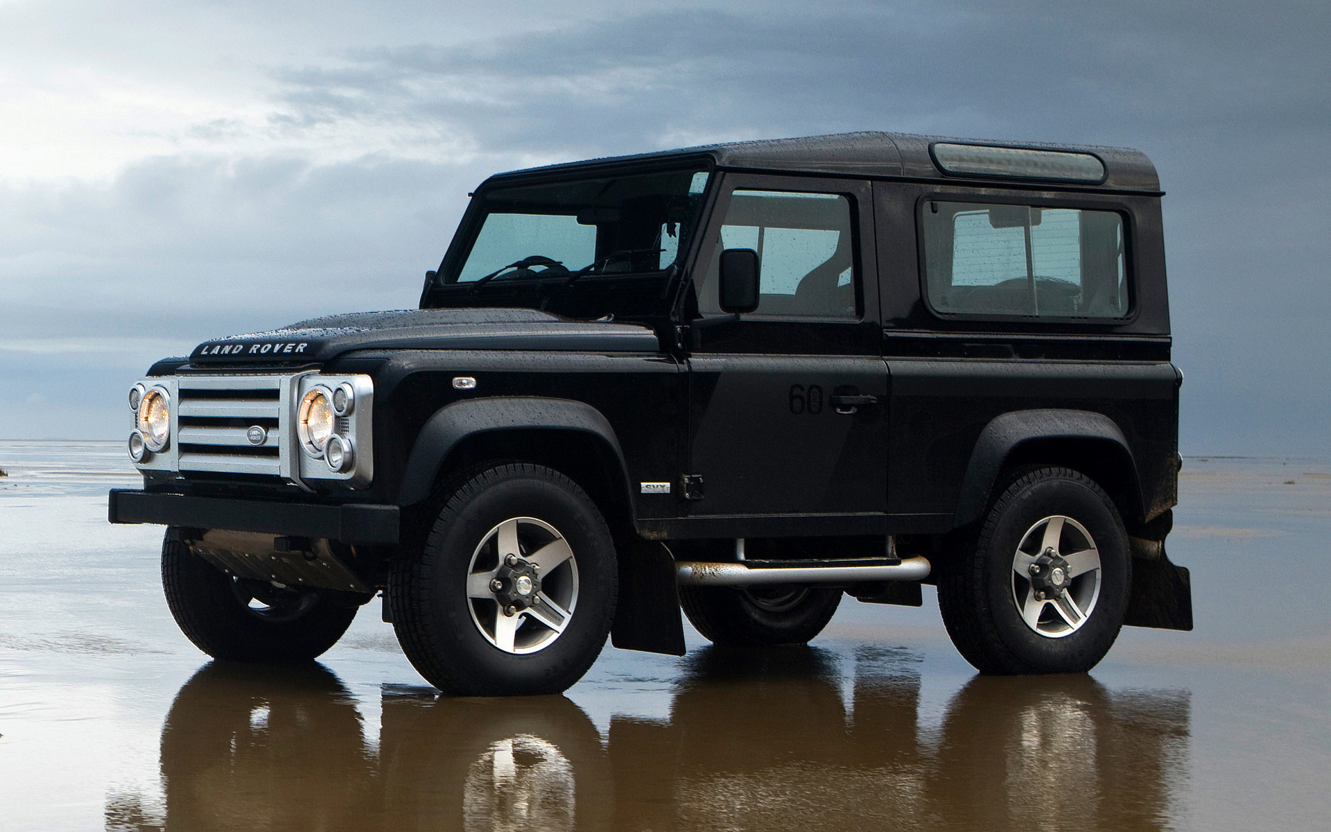 Land Rover Defender 90 SVX 2008 UK Wallpapers and HD