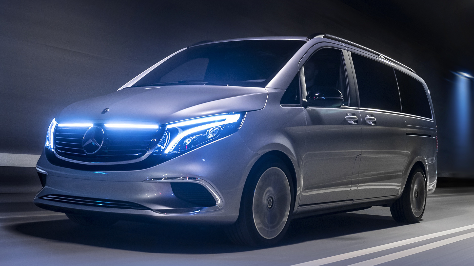 2019 Mercedes Benz Concept Eqv Wallpapers And Hd Images