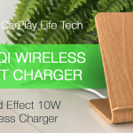 A8 Wood Qi 10W Fast Wireless Charger Review