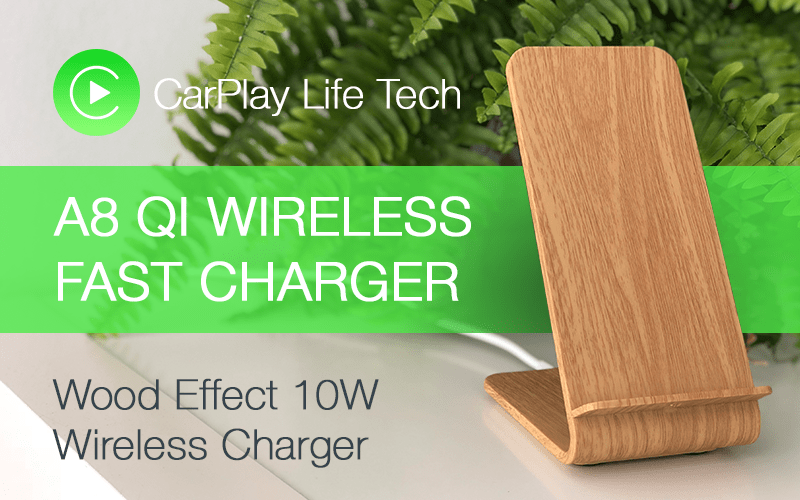 A8 Qi Fast Wireless Charger