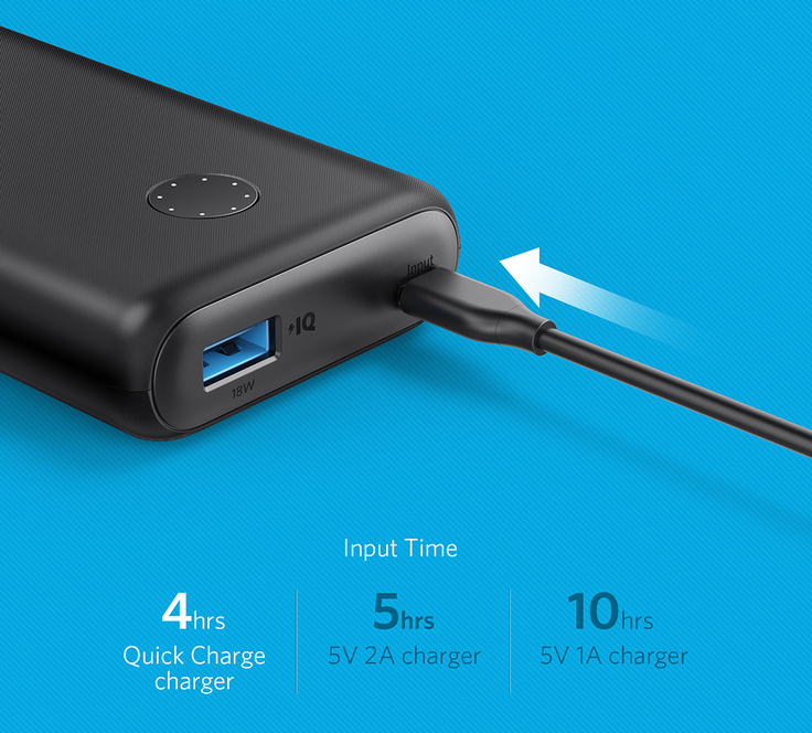 Anker PowerCore II 10000 Power Bank