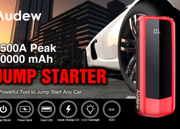Audew Jump Starter 20000mAh Car Battery Booster USB Charger Review