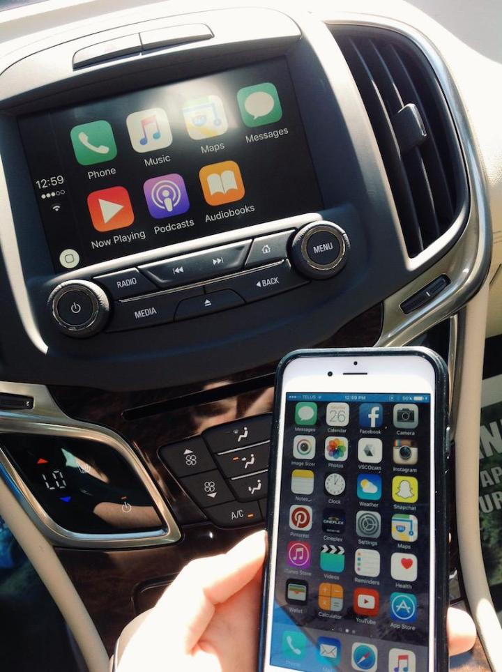 Buick Lacrosse 2016 CarPlay