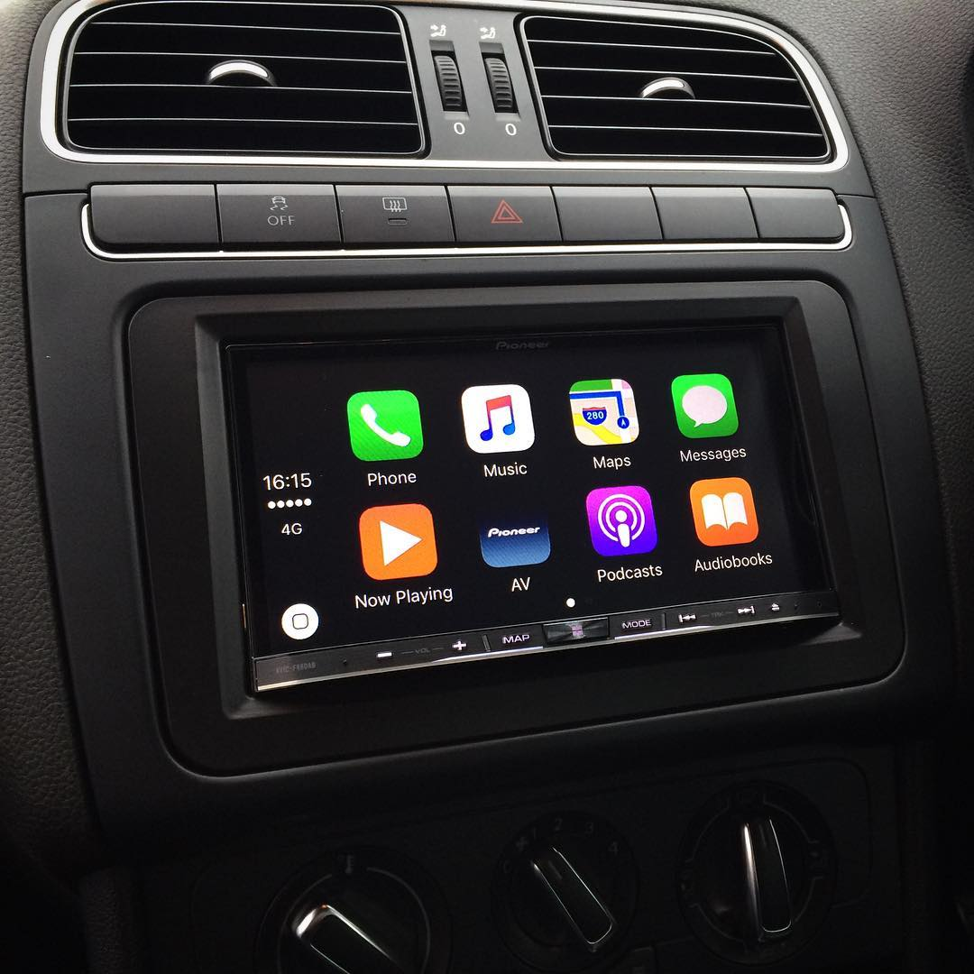pioneer radio touch screen with Carplay Installs Pioneer Avic F88dab In A Volkswagen Polo on Galaxy Double Din moreover Alfa Mito Audio Install also 2 Din Multimedia Autoradio Astra Zafira Antara Navigatie Enz Detail furthermore Pioneer furthermore Watch.