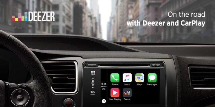 Deezer CarPlay