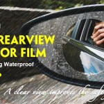 Gocomma Car Side / Rear View Mirror Waterproof Film Review
