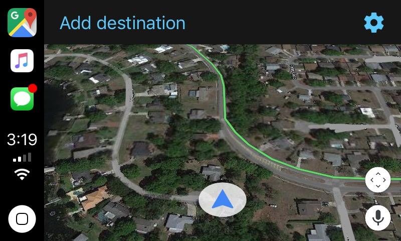 Google Maps Begins Beta Testing Its Carplay Ios 12 App Screenshots
