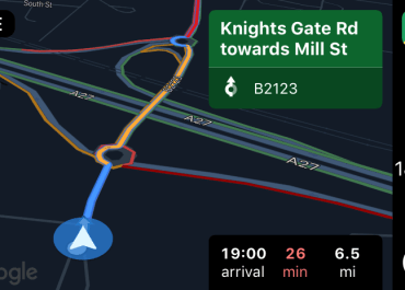 Google Maps Update Fixes Night Mode in Apple CarPlay