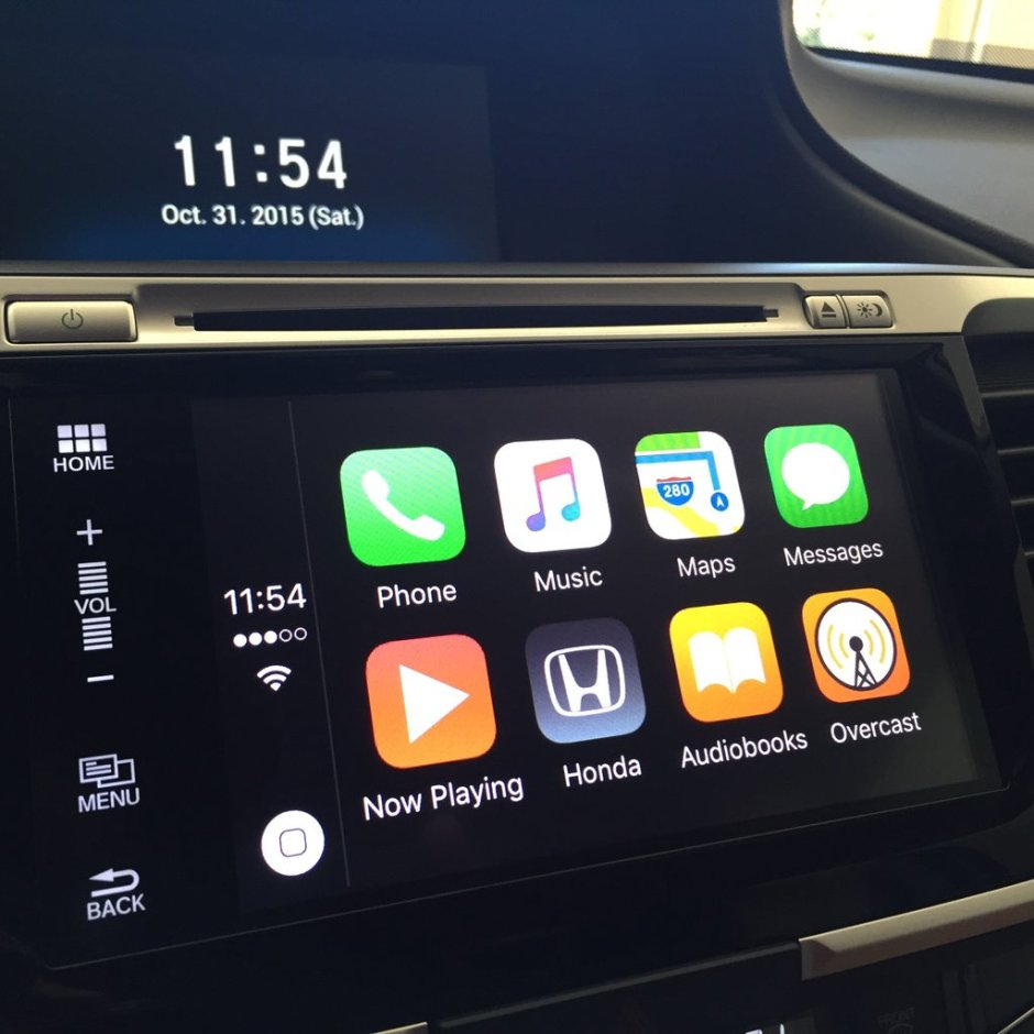 Honda Accord CarPlay