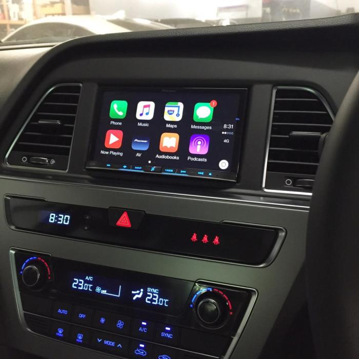 Hyundai Sonata CarPlay