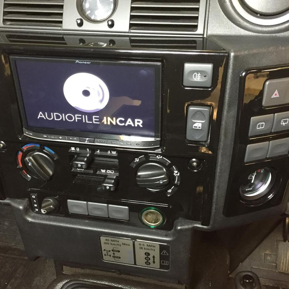 Landrover Defender carplay