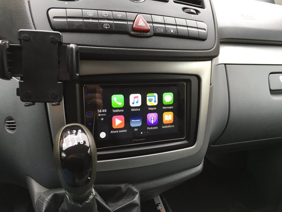 Mercedes Viano 2006 CarPlay