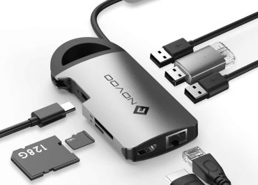 NOVOO 8-in-1 USB-C Hub Review