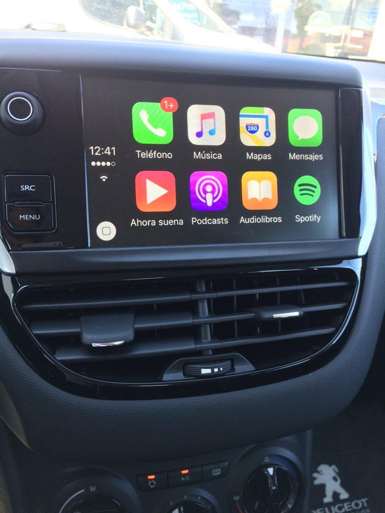 Carplay Installs Factory Fitted In A 2016 Peugeot 208