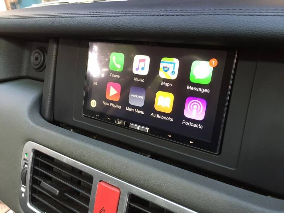 Range Rover CarPlay Install