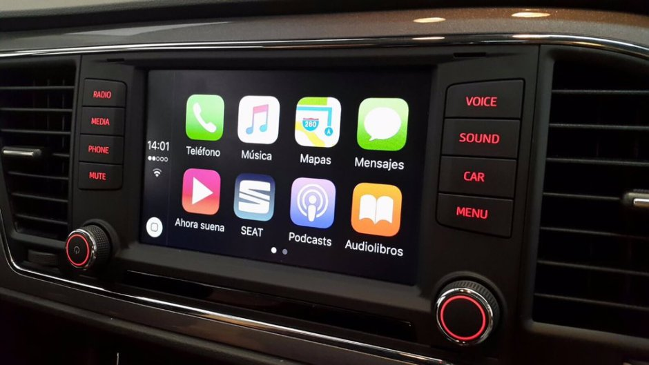 Seat Leon 2016 CarPlay