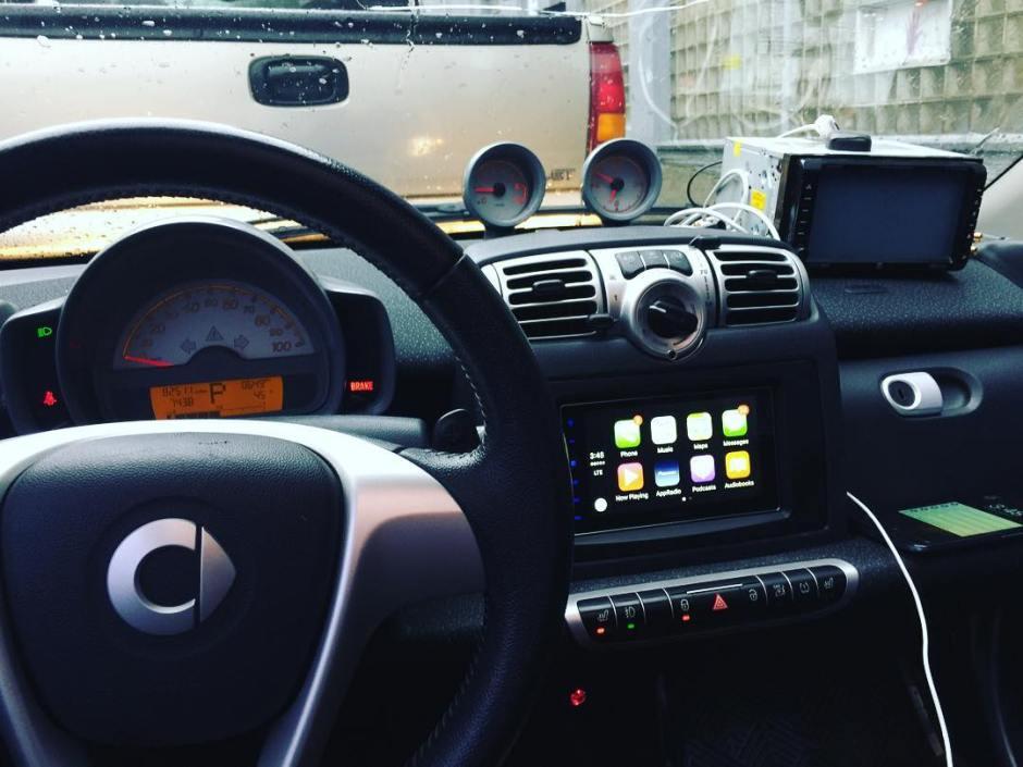 Smart Four2zero carplay