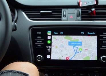 Sygic Demos GPS Offline Navigation App Running on Apple CarPlay
