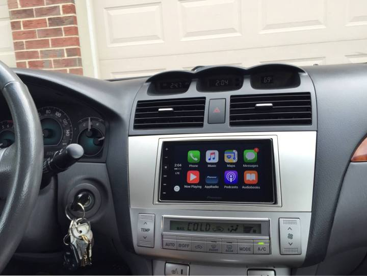 Toyota Solara CarPlay Install