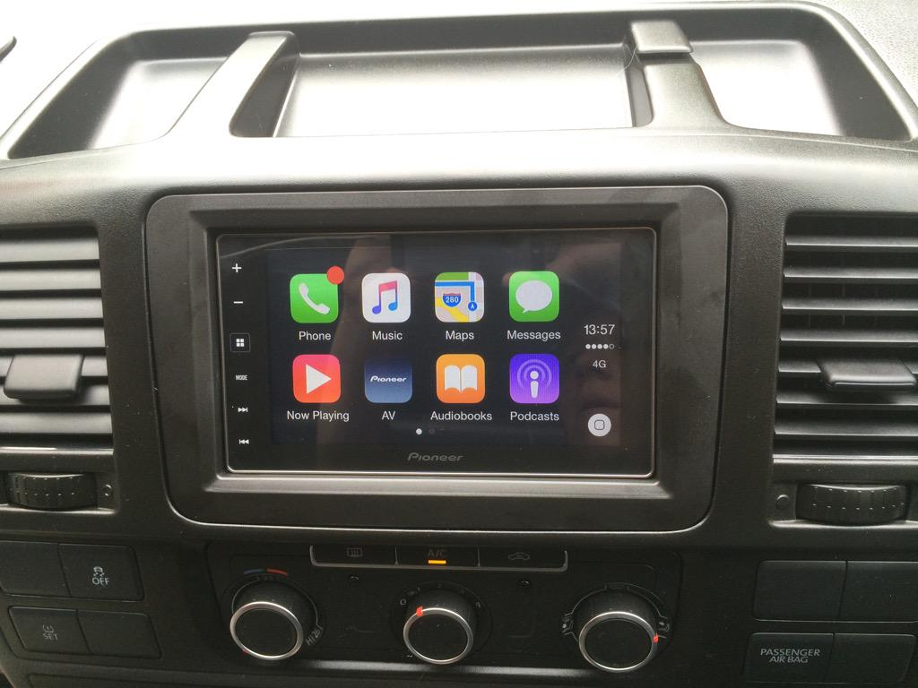 carplay installs pioneer sph da120 in a volkswagen. Black Bedroom Furniture Sets. Home Design Ideas