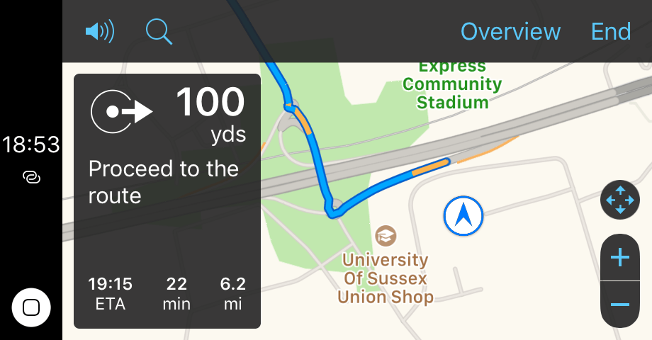 ios10 maps overview