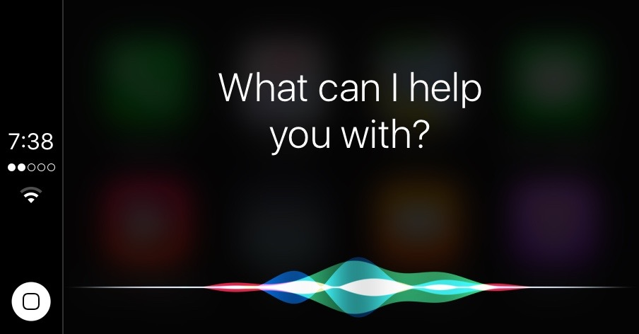 Siri CarPlay