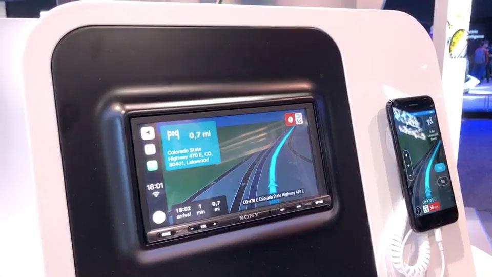 Tomtom Demos Its Navigation App Running On Apple Carplay Carplay